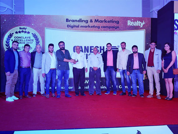 Best Digital Marketing Campaign of the Year @ Realty Plus Conclave & Excellence Awards